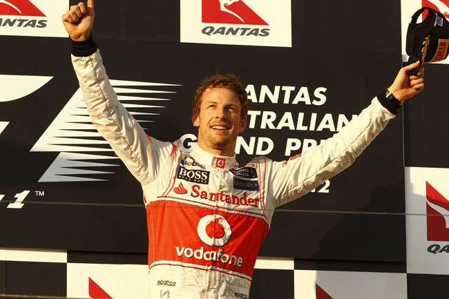 Jenson Button GP Australia