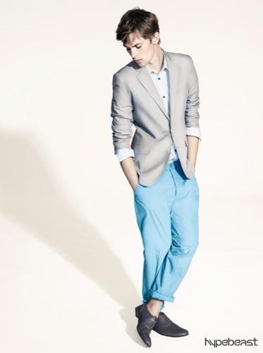 H&M, colección para hombre primavera-verano 2009 estilo Tom Ford