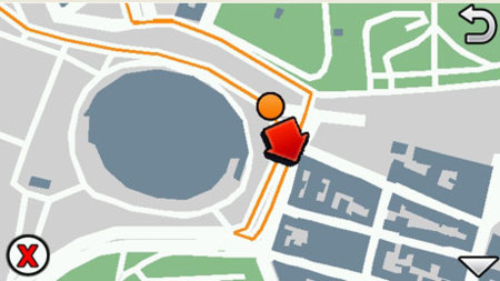 Ovi Maps Racing convierte la calle por la que vas en un circuito de carreras