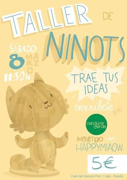 """Si vives en Valencia y tu hijo tiene una idea para crear un """"ninot"""" fallero, llévalo el sábado a Canguro Verde"""