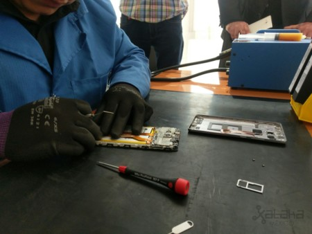 Huawei Mate 8 Teardown Mexico 1