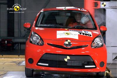 EuroNCAP pone a los utilitarios PSA-Toyota (C1, 107 y Aygo) al nivel de Dacia