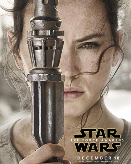 Cartel de Daisy Ridley como Rey