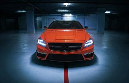 """German Special Customs Mercedes-Benz CLS 63 AMG """"Stealth"""""""