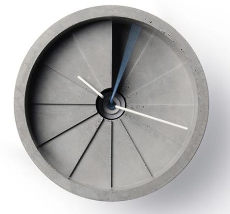 El hormigón también sirve para fabricar relojes