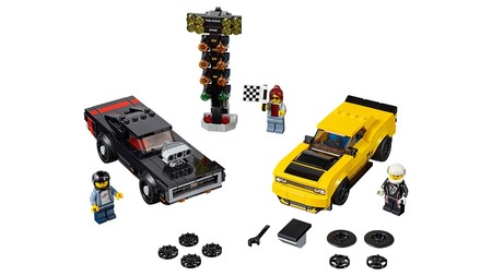Lego Speed Champions Dodge 4