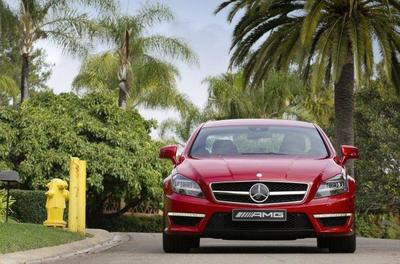 Mercedes CLS 63 AMG. ¿9,9 l/100 km de consumo medio?