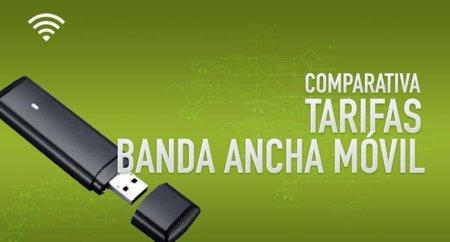 Comparativa Tarifas de Banda Ancha Móvil: Julio de 2012