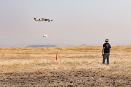 Los drones mensajeros de Google ya tienen su primer trabajo: entregar burritos