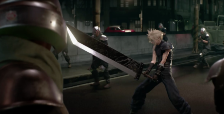Final Fantasy Vii Remake Buster Sword
