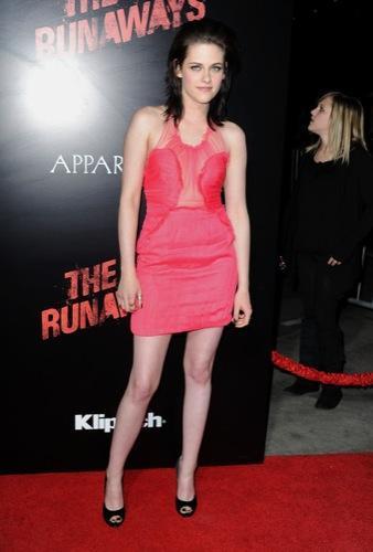 Kristen Stewart en la premiere de The Runaways