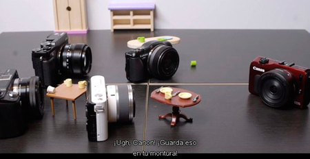 """""""La fiesta de la cámaras sin espejo"""", ¿de qué hablarían las cámaras CSC si cobraran vida?"""