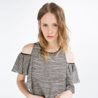 Camiseta Rayas Zara