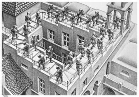 [Vídeo] Gotas que parece que suben y bajan escaleras de Escher