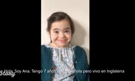 """""""Hago felices a todos"""": Ana, una niña de siete años con Síndrome de Down, y sus hermanos nos cuentan cómo es ella y cómo es su vida"""