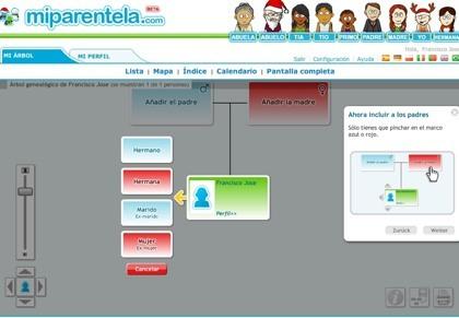 Miparentela.com, otra oferta más para crear tu árbol genealógico