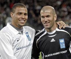 Zidane y Ronaldo, de nuevo en Cuatro