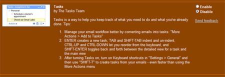 Task, la utilidad de listas de tareas para GMail
