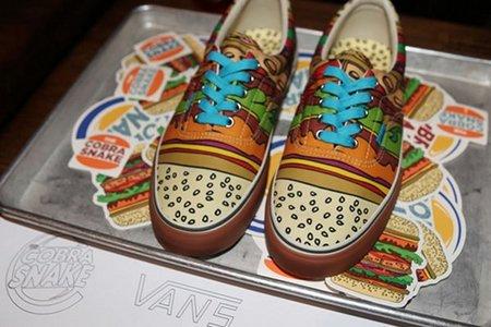 ¡Llegan las Vans 'cheeseburger'!
