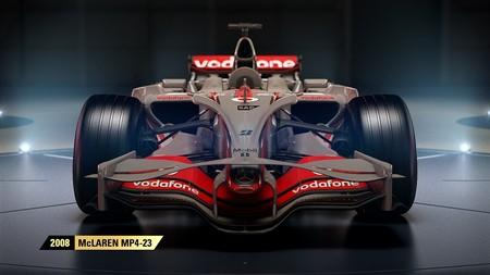 El nuevo tráiler de F1 2017 revela cuatro de los vehículos más clásicos de McLaren que se podrán pilotar