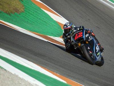 Francesco Bagnaia y Enea Bastianini cierran los test de Valencia con los mejores tiempos en Moto2 y Moto3