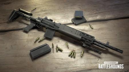 Así es la MK14, el nuevo rifle de francotirador del PUBG