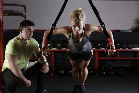 He empezado a entrenar desde cero en el gimnasio, y así estoy organizando mi rutina