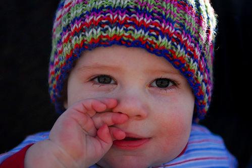 gotas para la infeccion en los ojos de un bebe