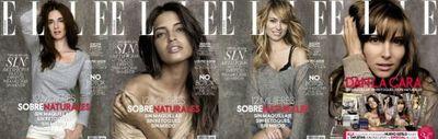 Paz Vega, Sara Carbonero, Patricia Conde y Elsa Pataky sin maquillaje en la revista ELLE