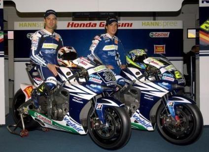 La nueva imagen del Gresini Honda Team