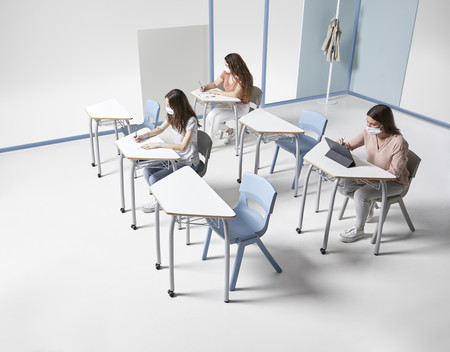 Alegre Design reformula el mobiliario escolar para adaptarlo a la nueva normalidad, flexible y segura