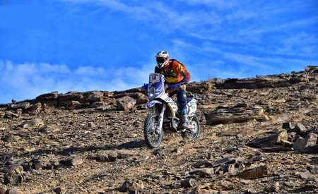 Nacho Sanchis Rally Merzouga Martes 2