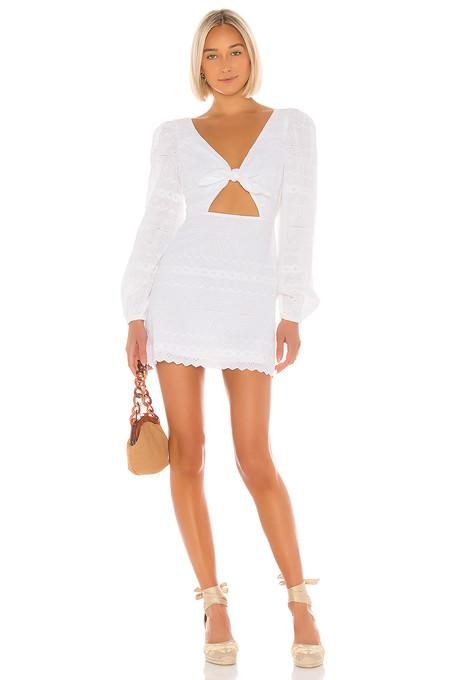 Vestido Blanco Verano 2019 11