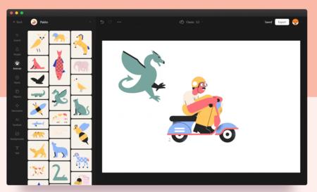 Vector Creator: crea gratis tus propias ilustraciones personalizadas a partir de más de 3000 elementos disponibles