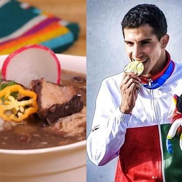 El clavadista Rommel Pacheco nos cuenta por qué el frijol con puerco es su comida favorita y te compartimos la receta