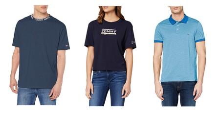 Chollos en tallas sueltas de camisetas y polos Tommy Hilfiger en oferta en Amazon