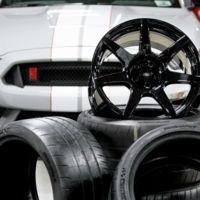 Ford se prepara para la producción masiva de rines de fibra de carbono para el Shelby GT350R