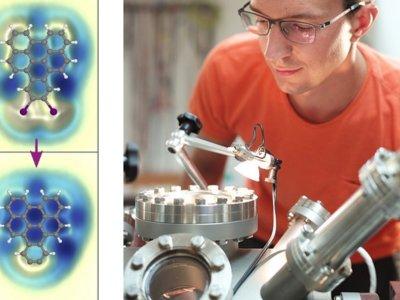 """Así es como científicos españoles e IBM han """"cazado"""" moléculas que existen solo unos milisegundos"""