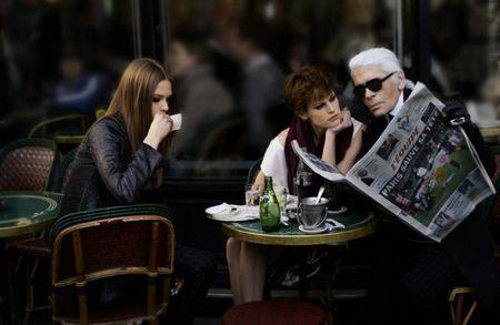 Karl Lagerfeld se pone por las nubes... diseñará helicópteros de lujo