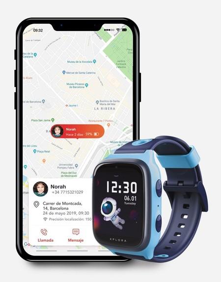 X4 App Azul Phone Progressive