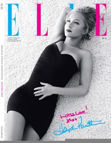 Foto de Hayden Panettiere para Elle Magazine (2/4)
