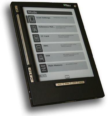 iLiad e-Reader, lector de libros digital
