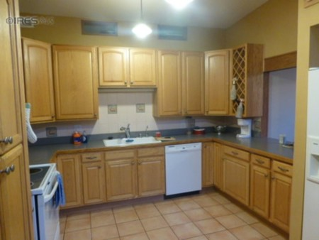 Antes y después: quitando los armarios altos de la cocina