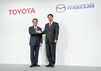 Toyota y Mazda se unen para crear coches más atractivos