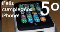 Cinco años del iPhone, la imagen de la semana