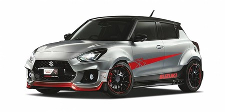 Suzuki Swift Sport Katana 2020: Inspirado por una moto, con carrocería ancha y muchísimo estilo