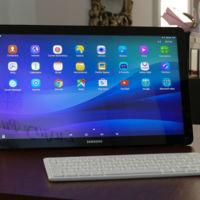 Probamos el Samsung Galaxy View, ¿tiene sentido un tablet de 18,4 pulgadas en casa?