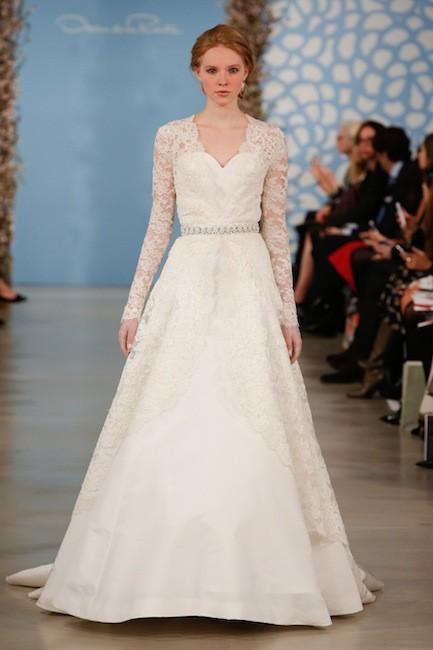 Novias de alta costura: Oscar de la Renta presenta sus propuestas en Nueva York