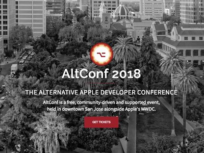 Si no puedes entrar en una, prueba con la otra: la AltConf 2018 se celebra justo al lado de la WWDC 2018