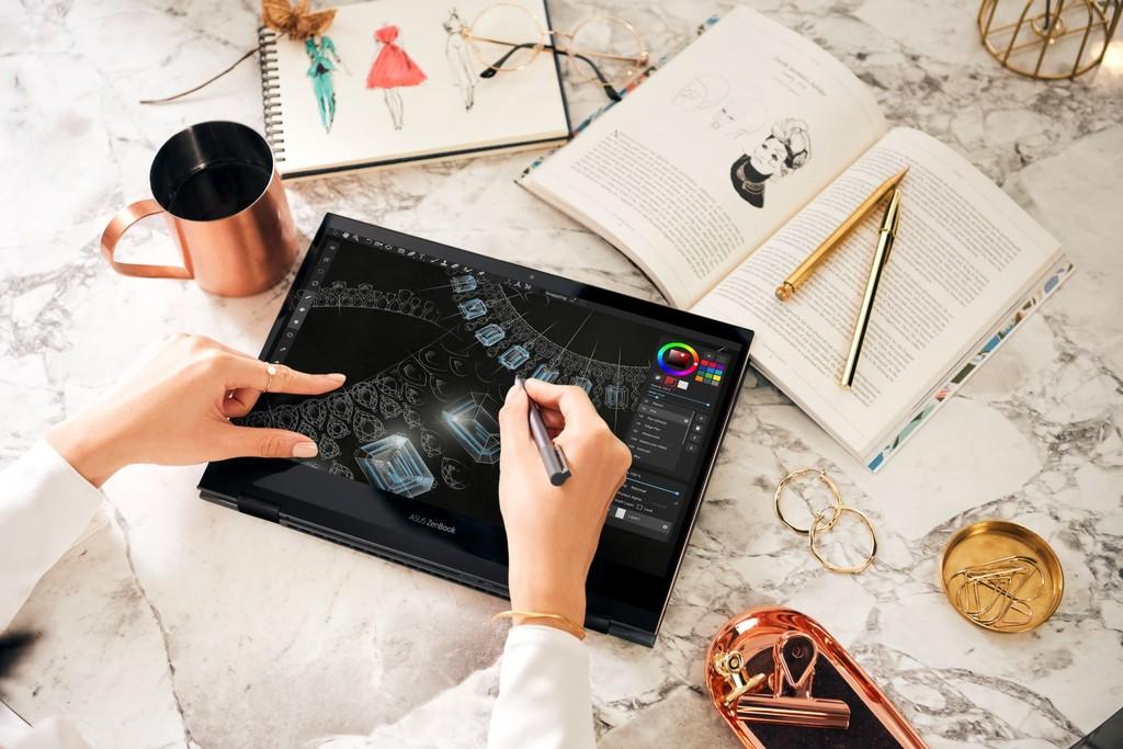 ASUS ZenBook Flip S: este convertible estrena pantalla OLED 4K UHD PANTONE, grosor de 13,9 mm y CPU Intel Core de 11ª generación